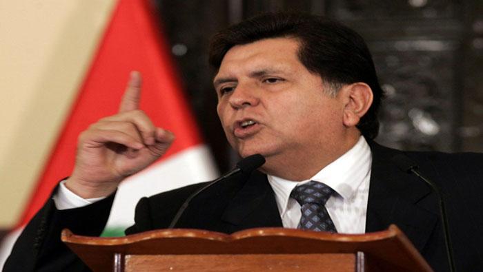 La Fiscalía de Perú ya tenía una tesis sobre el presunto contrato ficticio que justificaría el pago realizado al expresidente Alan García.