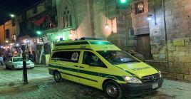 El responsable de la explosión, quien no ha sido identificado, arrojó una granada contra la mezquita de Al Istiqama en El Cairo el pasado viernes.
