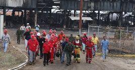 Los trabajadores activaron el Plan de Contingencia de Pdvsa y se desplegaron en la zona afectada para extinguir el incendio a través de un sistema de seguridad integral con las instituciones pertinentes.