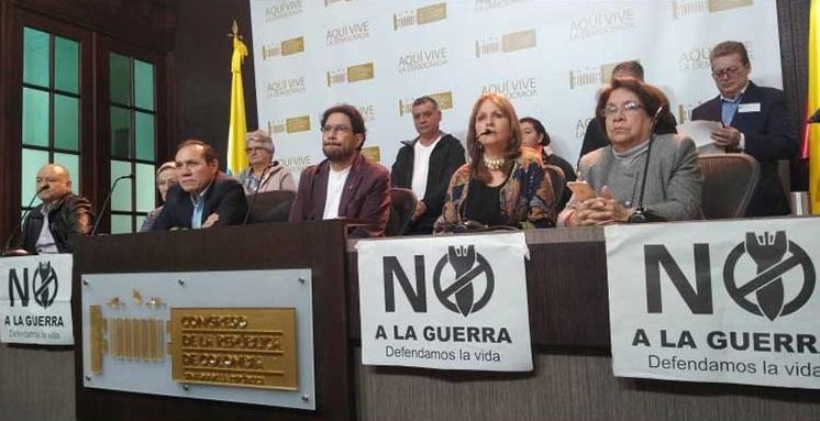 Organizaciones sociales y defensores de los derechos humanos instaron a Duque desligarse de los planes de invasión contra Venezuela.