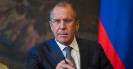 """Las amenazas de Donald Trump son """"una injerencia directa en los asuntos internos de un país independiente"""", indicó el canciller ruso."""