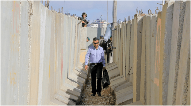 Cisjordania posee un muro de separación de unos 700 kilómetros, como parte de la estructura de segregación y control que perpetra Israel en esta localidad.
