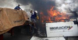 """Mike Pompeo """"y sus sicarios están desesperados por fabricar un pretexto para la guerra"""", advirtió el canciller de Venezuela."""