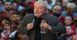 Lula da Silva condenó las sanciones impuestas unilateralmente por EE.UU. hacia Venezuela.