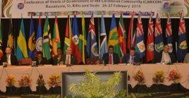 La Comunidad del Caribe (Caricom) defiende la no injerencia en Venezuela. Llama al diálogo como única solución.