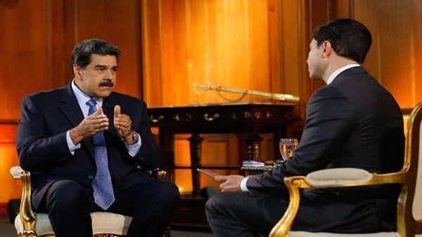 Maduro denunció que EE.UU. solo esta interesado en apoderarse del petróleo venezolano.