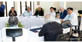 El Gobierno del presidente Daniel Ortega y grupos civiles inician mesa de diálogo por el entendimiento en Nicaragua.