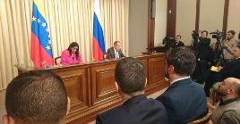 Los Gobiernos de Venezuela y Rusia se reúnen en el marco de las amenazas de intervención militar contra el país suramericano por parte de EE.UU.