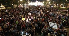 La convocatoria tuvo su epicentro en la emblemática Plaza de Mayo.