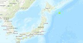 Las autoridades japonesas no reportaron víctimas ni daños materiales tras el temblor.