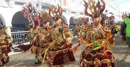 """El Carnaval de Oruro es la máxima representación de los carnavales en Bolivia, declarado por la Unesco como """"Obra Maestra del Patrimonio Oral e Intangible de la Humanidad"""" en 2008."""