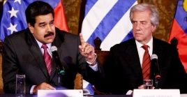 """""""Los problemas de los venezolanos lo tienen que resolver los venezolanos y no de afuera, no aprobamos ningún tipo de injerencia externa"""", recalcó Tabaré Vásquez."""