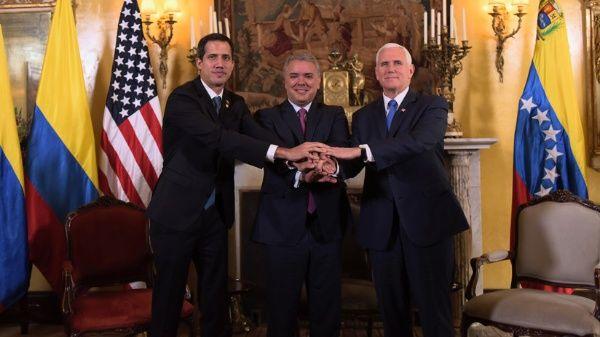 """El opositor venezolano Juan Guaidó ha sido tildado como """"títere del imperialismo""""."""