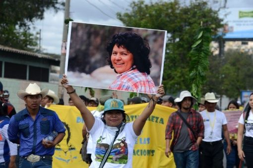 Berta Cáceres, defensora del medio ambiente, fue asesinada el 2 de marzo del 2016.