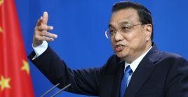 El primer ministro chino Li Keqiang dice que China crecerá entre 6 y 6.5%.