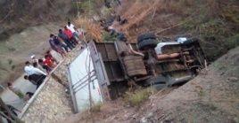 25 migrantes centroamericanos murieron este jueves a causa de un accidente vial en el sureño estado mexicano de Chiapas