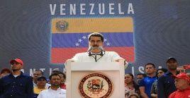 El mandatario encabezó este sábado la multitudinaria marcha del Día del Antiimperialismo Bolivariano, en Caracas.