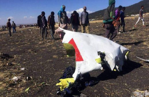 El avión se estrelló pocos minutos después de despegar de la capital etíope, Adís Adeba.