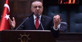 El presidente de Turquía fustigó este miércoles a su homólogo israelí.