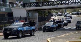 La Policía Nacional de Nicaragua liberó a 107 personas detenidas en una marcha no autorizada.