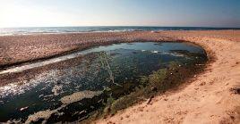 Los acuíferos en Gaza colapsan por la contaminación.
