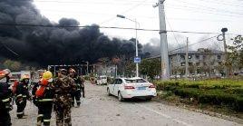 La explosión ocurrió cerca de las 14H00 (hora local) de este jueves.