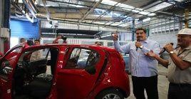 """Este año 2019 estará signado por """"un nuevo comienzo industrial, productivo, comercial"""" para el sector automotriz, afirmó el jefe de Estado."""