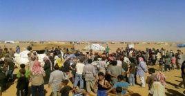 El campamento de Rukban controlado por fuerzas separatistas apoyadas por Estados Unidos que chantajean con el agua
