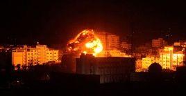 Este hecho se produce luego que las Fuerzas de Defensa de Israel atacaran por vía aérea varios objetivos en Gaza.