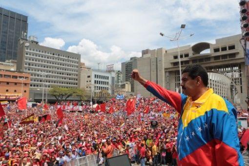 """""""A esta guerra la derrotaremos con la fuerza inmensa que como pueblo hemos acumulado en nuestro lucha contra imperios groseros y sus lacayos locales"""", afirmó el Gobierno de Venezuela."""