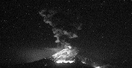 Volcán Popocatépetl registra nueva explosión