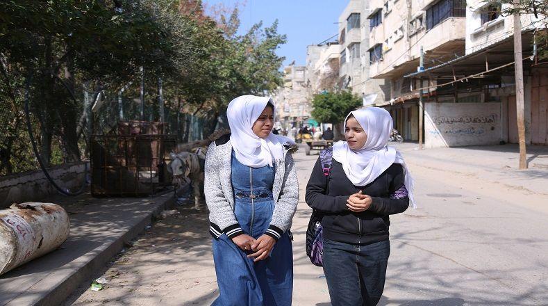 El pueblo de Gaza resiste a la expulsión de su territorio, el despojo y la ocupación militar apoyándose en las mujeres para construir su cotidianidad.