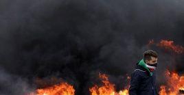 Un joven palestino falleció este sábado en la Franja de Gaza por disparos de soldados israelíes.
