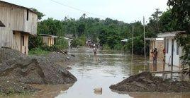 La zona más afectada por las lluvias ha sido la provincia de Chanchamayo en el centro de Perú.