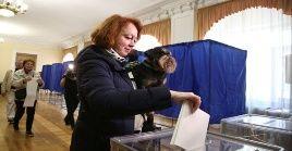 Las autoridades electorales estiman una participación ciudadana del 45 por ciento, aproximadamente.