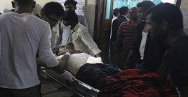 Los heridos fueron ingresados a centros de atención cercanos, pero las autoridades prevén que las cifras de afectados aumenten.