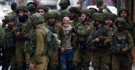 Al menos118 niños palestinos fueron detenidos en los primeros dos meses de 2019