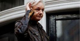 Assange tiene cerca de siete años en la embajada de Ecuador en Londres.