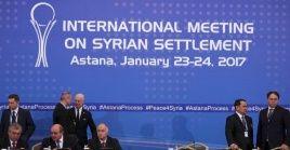 Los once encuentros anteriores confirmaron el firme compromiso de preservar la integridad territorial de Siria.