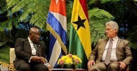 En diciembre los vínculos bilaterales entre Cuba y Ghana cumplirán seis décadas.