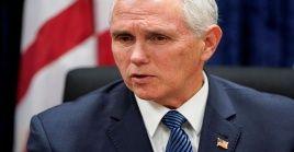El vicepresidente de EE.UU. dijo que prevén discutir sobre Venezuela en la próxima sesión del Consejo de Seguridad de la ONU.
