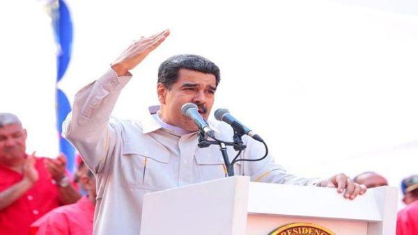 La intención es generar caos y violencia para asaltar el poder político y apoderarse de los recursos naturales, denunció el jefe de Estado.