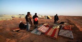 3.400 libios han sido desplazados por los recientes combates en Trípoli.