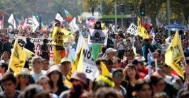 La jornada de manifestaciones de este jueves es la segunda en lo que va del gobierno de Sebastián Piñera.