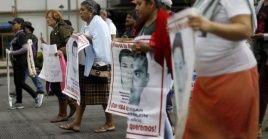 Las cifran oficialesindican que hay40.180 personas desaparecidas en la última década en México.