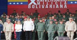 El jefe de Estado realizó un repaso histórico de los sucesos del 11,12 y 13 de abril de 2002.