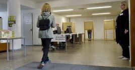 Los finlandeses votaron este domingo para renovar los 200 escaños del Parlamento.