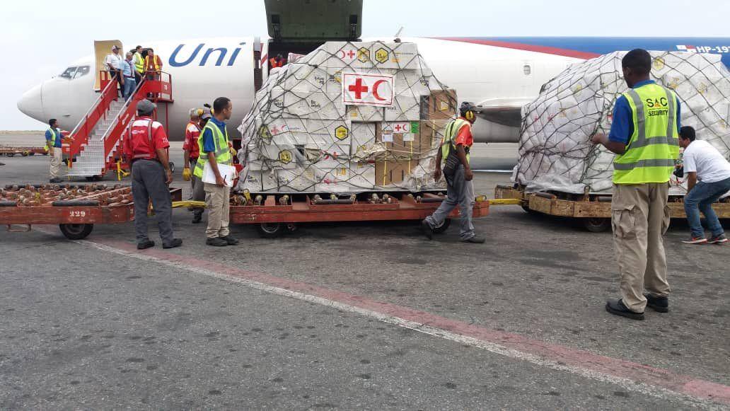 Arriba a Venezuela cargamento de insumos médicos coordinado por la ONU, Comité y Federación Internacional Cruz Roja