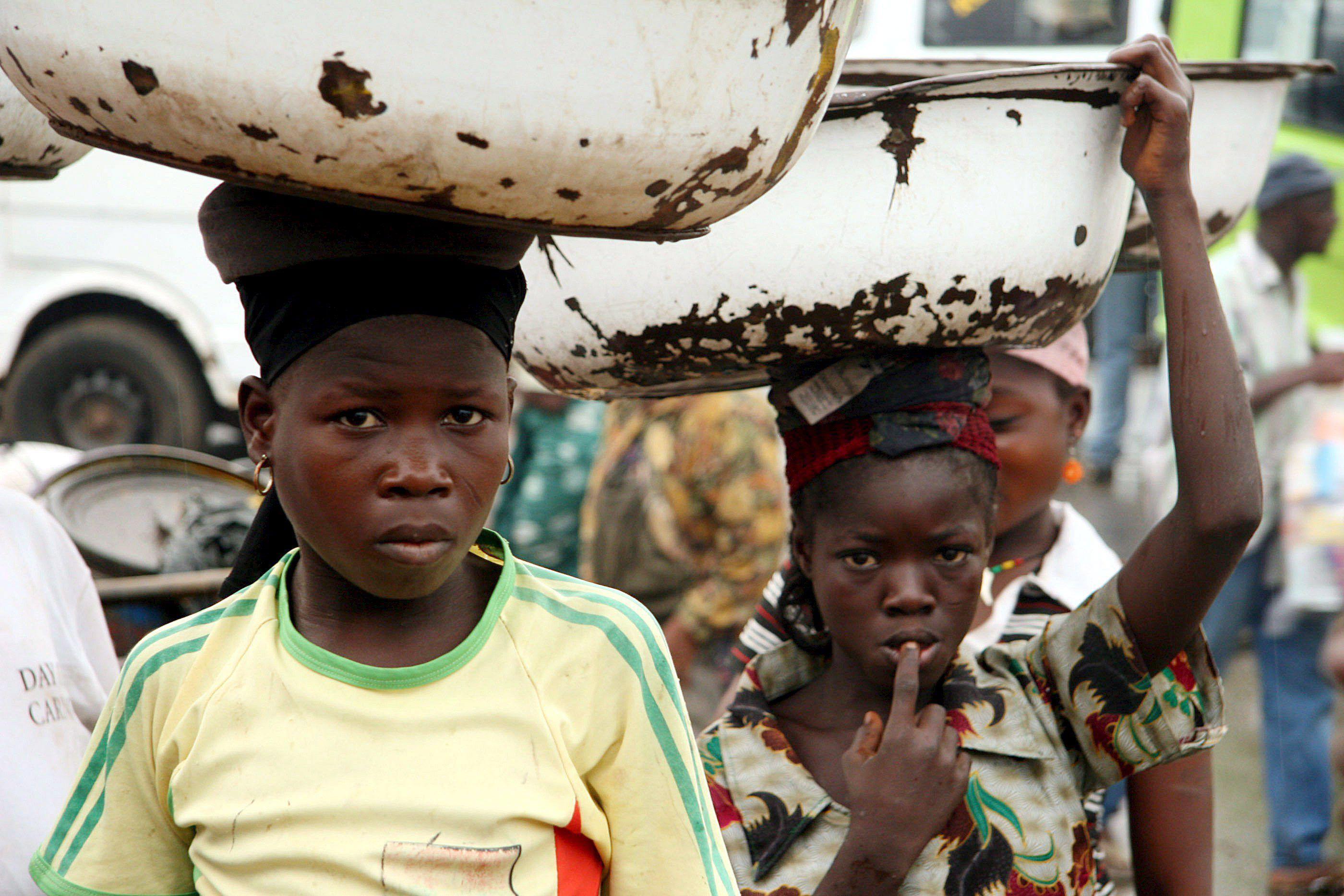 ¿En qué países existe la esclavitud infantil?