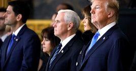 """Trump y Pence han sido categóricos al asegurar que """"todas las opciones están sobre la mesa"""", con respecto al tema de Venezuela."""